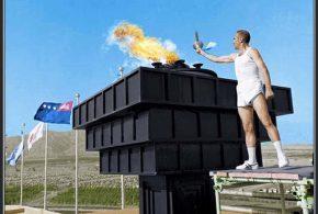 فیلمی از آماده سازی مشعل ورزشگاه آزادی که قرار است دیگر دکور نباشد