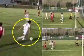 آیا پسر کریستیانو رونالدو ستاره بعدی فوتبال جهان است؟/ فیلم