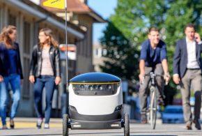 جولان روبات پستچی در خیابان های سانفرانسیسکو(ویدئو)