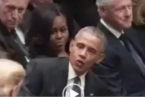 هیلاری کلینتون هنوز ترامپ را نبخشیده است (ویدئو)
