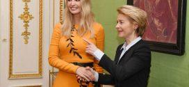 لباس ایوانکا دختر ترامپ سوژه فضای مجازی شد(عکس)
