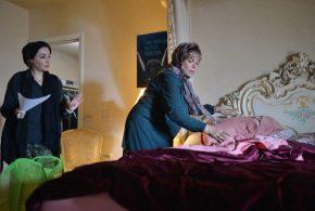 اولین عکس ها از فیلمی که گوهرخیراندیش در آمریکا بازی می کند
