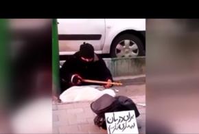 نوازنده خیابانی که علیرضا قربانی را به وجد آورد(ویدئو)