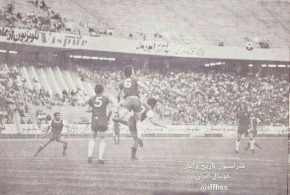 تصویری دیدنی از بازی پرسپولیس و چلسی در ورزشگاه آزادی /عکس