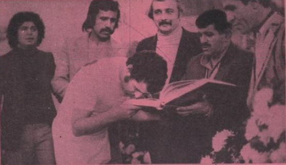 نوستالژی؛ روزی که همایون خان بهزادی کفشها را آویخت!(عکس)