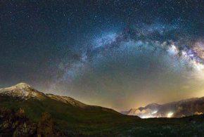 ببینید | ویدئویی تماشایی از عبور کهکشان راه شیری بر فراز کوه دماوند
