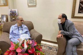 عبدالوهاب شهیدی ۹۹ ساله شد