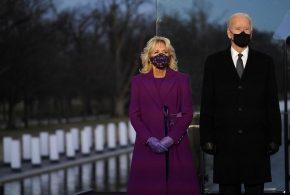 ببینید | سوتی بزرگ همسر جو بایدن در کاخ سفید