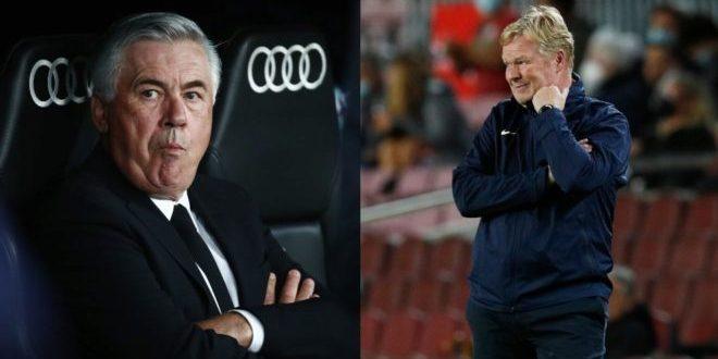 اوضاع بحرانی مربیان رئال مادرید و بارسلونا/خطر بیخ گوش آنچلوتی و کومان